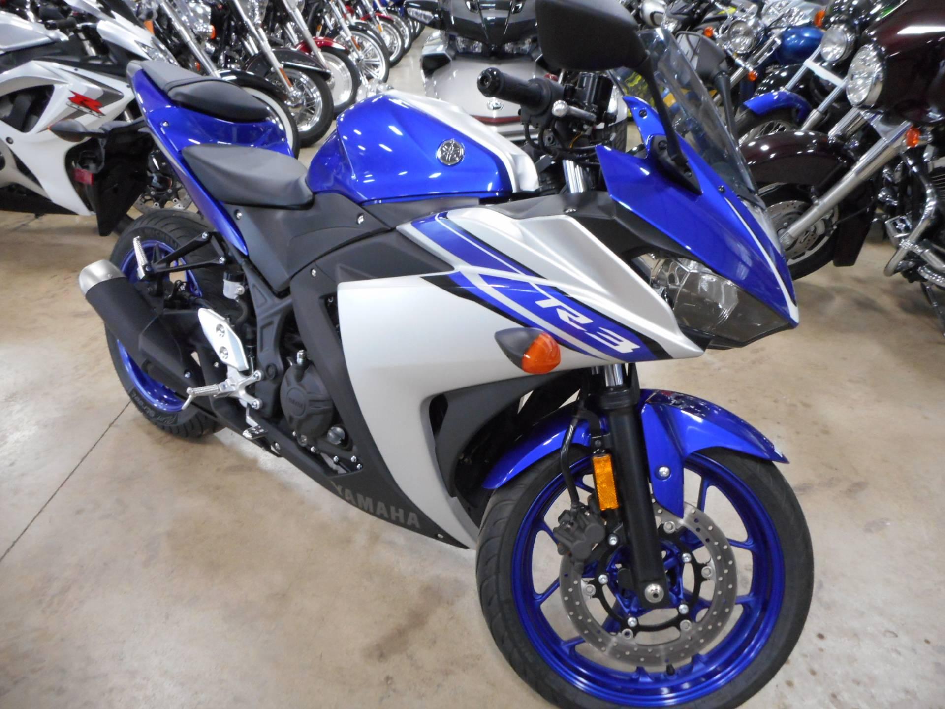 2016 Yamaha YZF-R3 for sale 107011