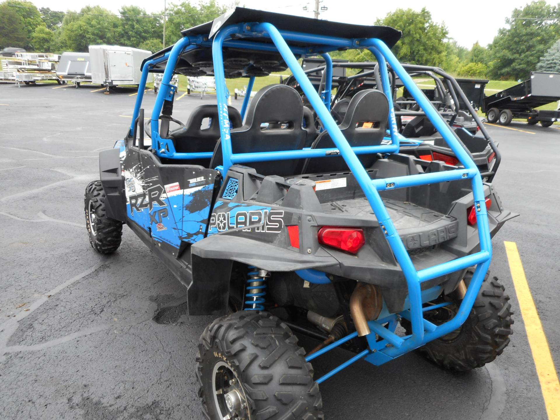2013 Polaris RZR XP 900 H.O. Jagged X Edition 4