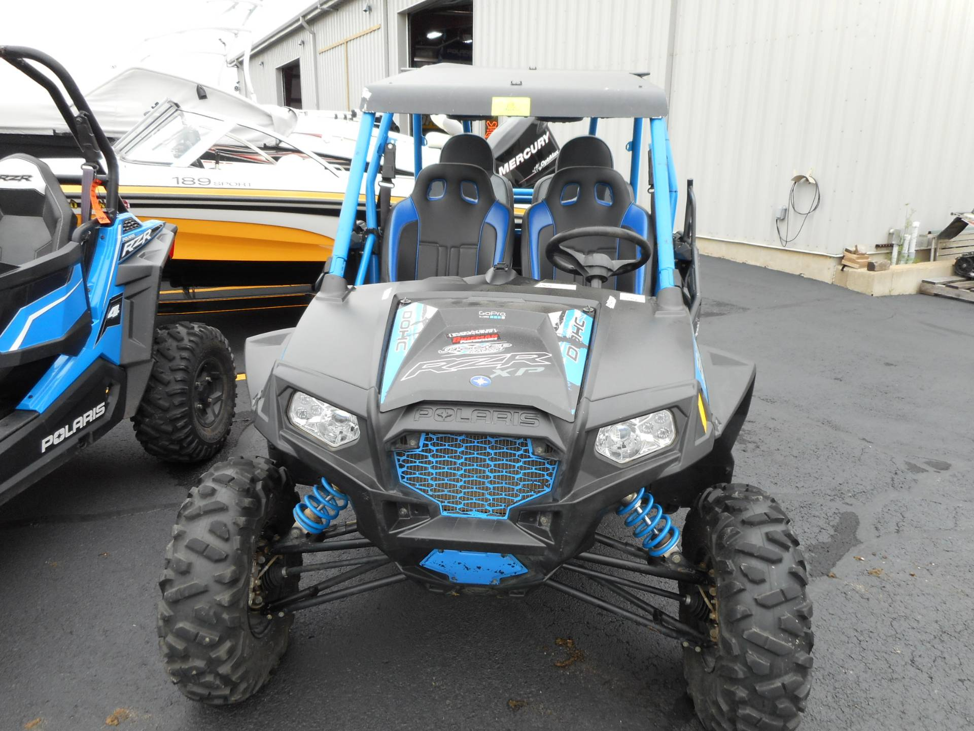 2013 Polaris RZR XP 900 H.O. Jagged X Edition 3