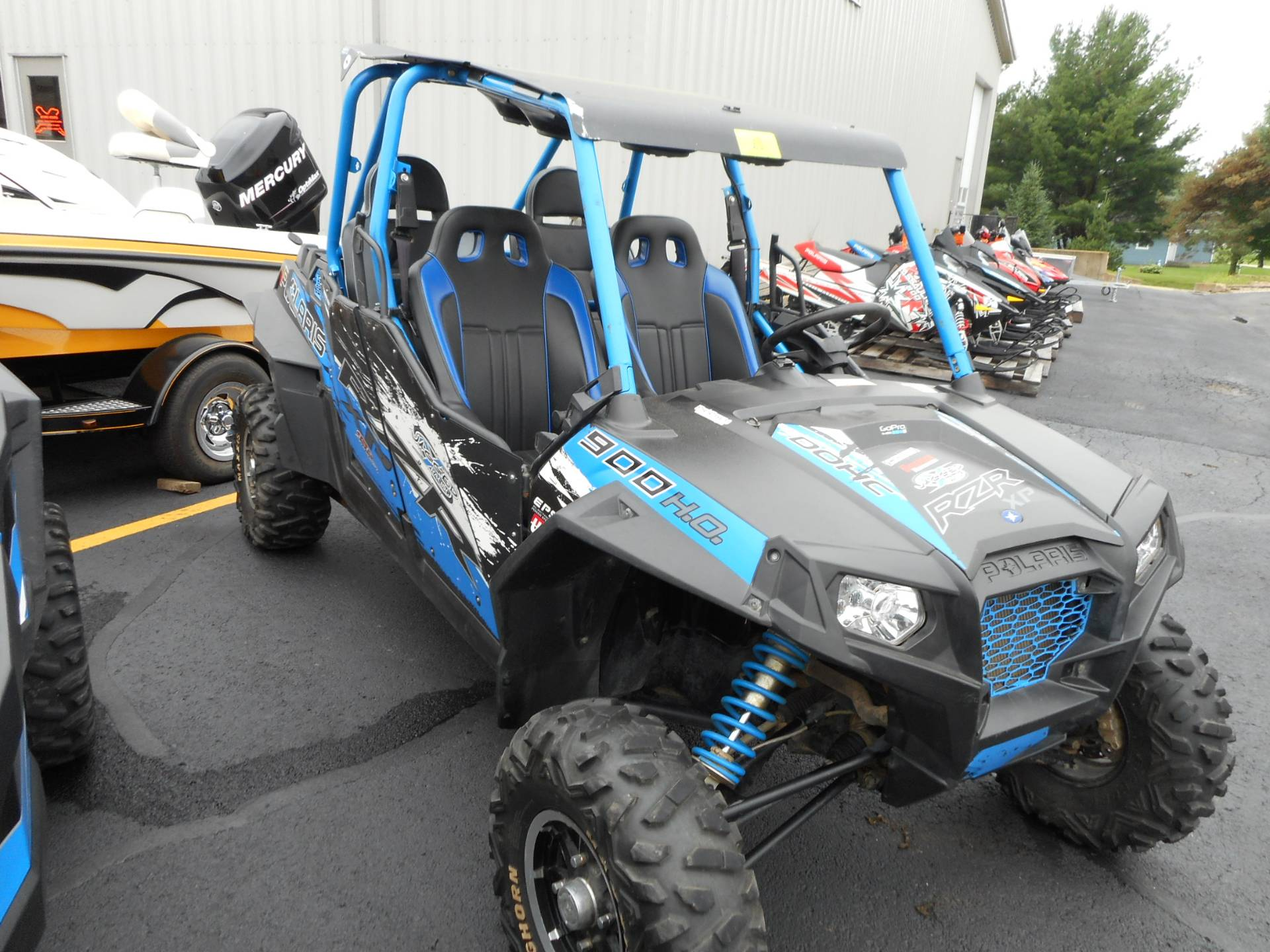 2013 Polaris RZR XP 900 H.O. Jagged X Edition 2