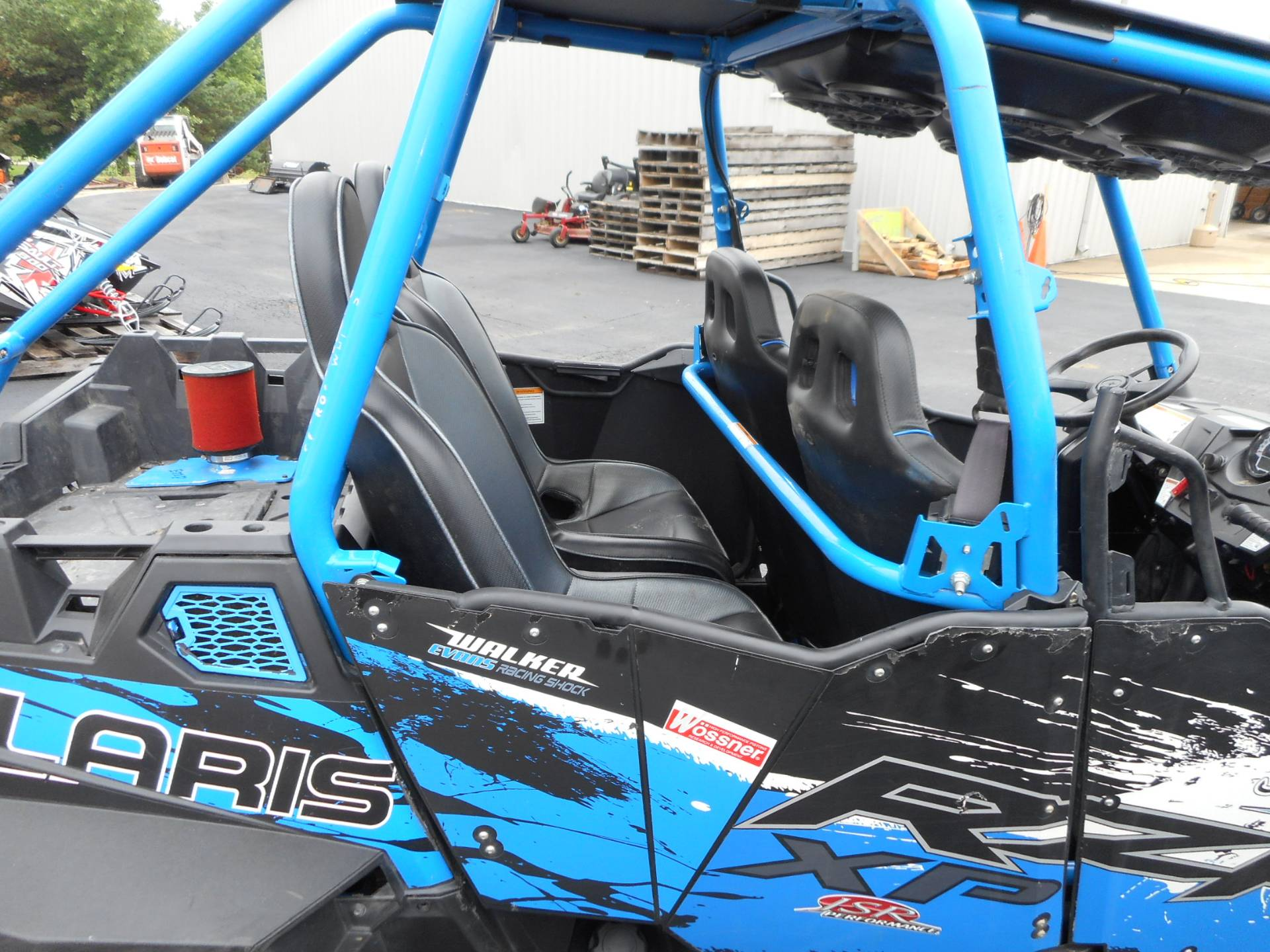 2013 Polaris RZR XP 900 H.O. Jagged X Edition 6