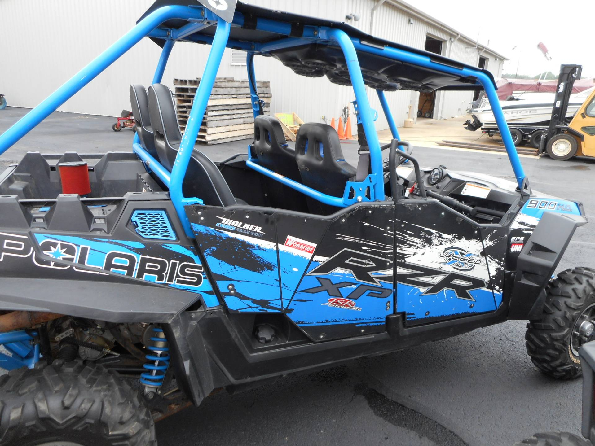 2013 Polaris RZR XP 900 H.O. Jagged X Edition 7