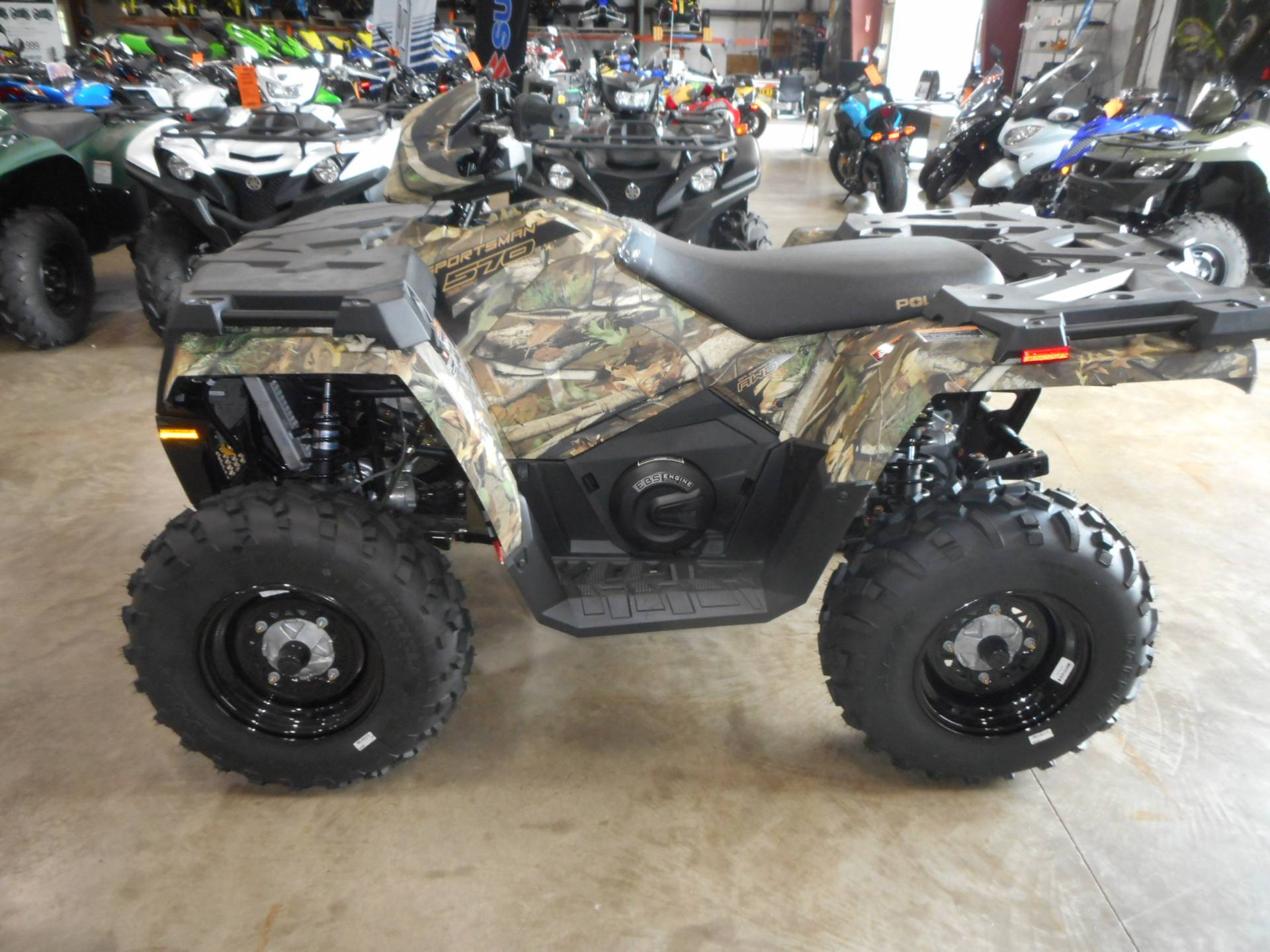 2019 Polaris Sportsman 570 EPS Camo in Belvidere, Illinois - Photo 1
