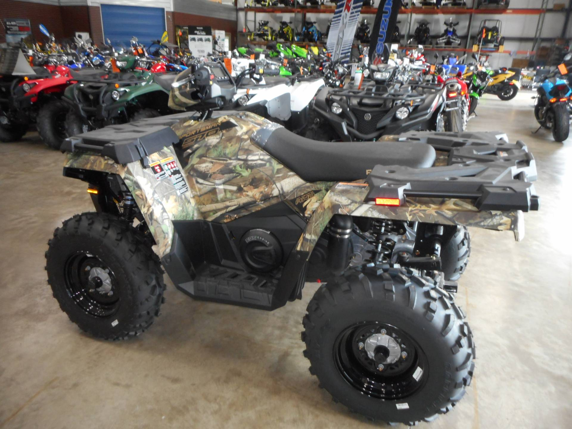 2019 Polaris Sportsman 570 EPS Camo in Belvidere, Illinois - Photo 7