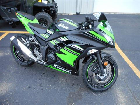2016 Kawasaki Ninja 300 ABS KRT Edition in Belvidere, Illinois