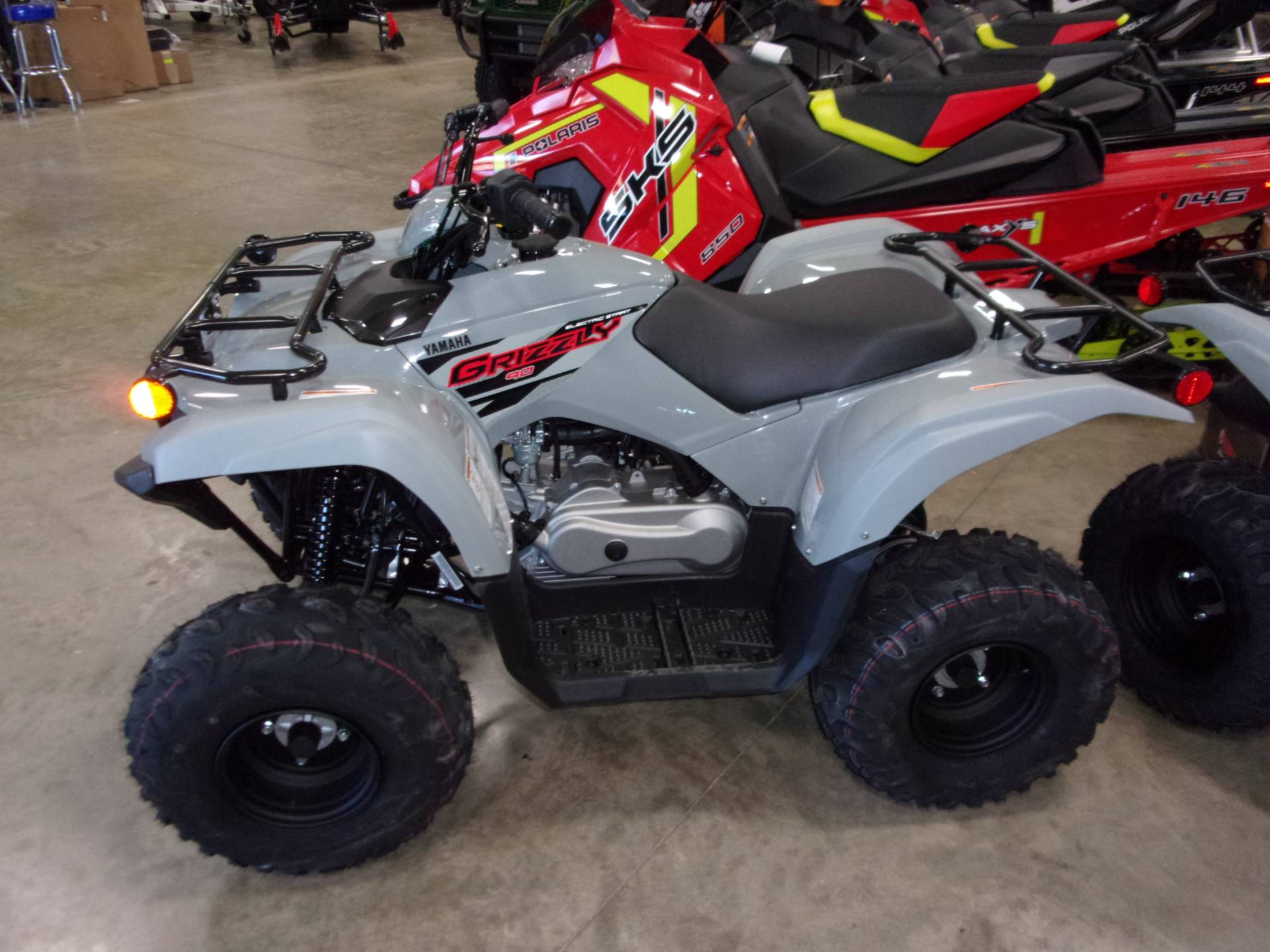 2021 Yamaha Grizzly 90 in Belvidere, Illinois - Photo 1