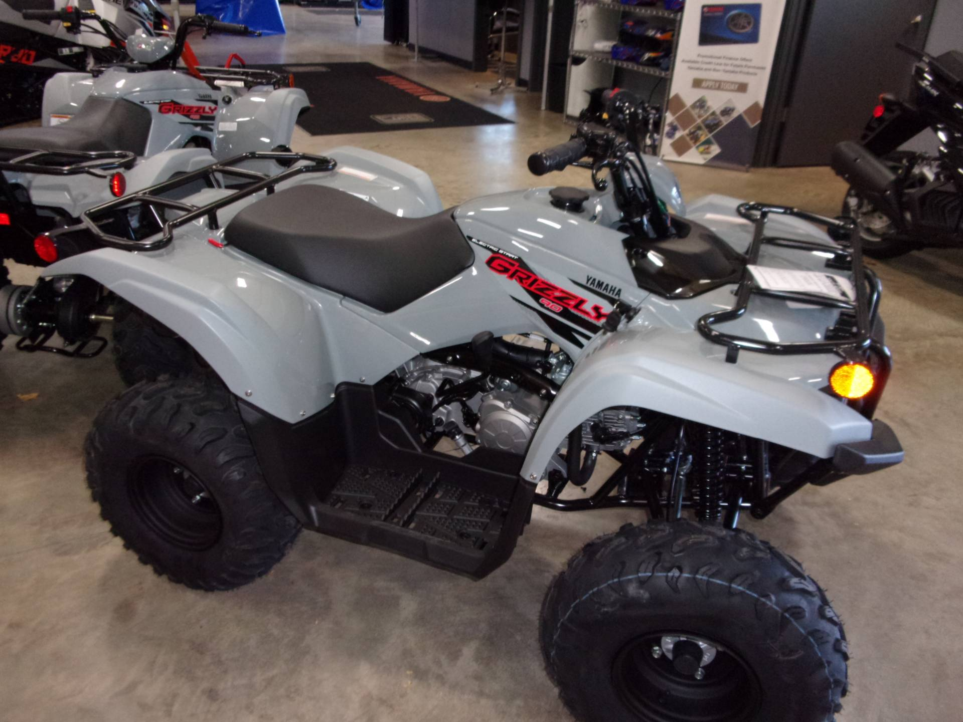 2021 Yamaha Grizzly 90 in Belvidere, Illinois - Photo 3
