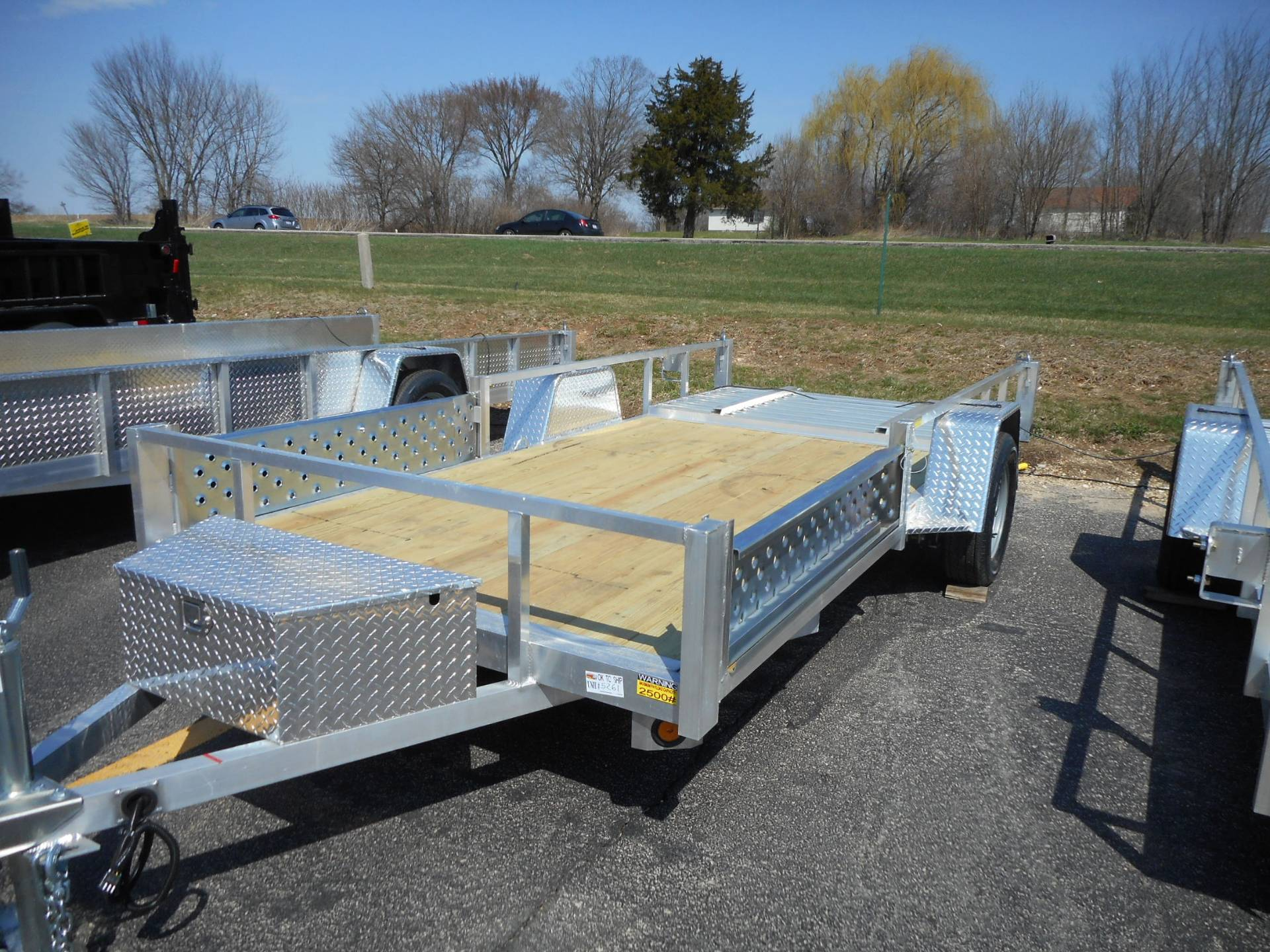 2020 Quality Trailers 74X14 DROP AXLE ALUMINUM TRAILER in Belvidere, Illinois - Photo 1