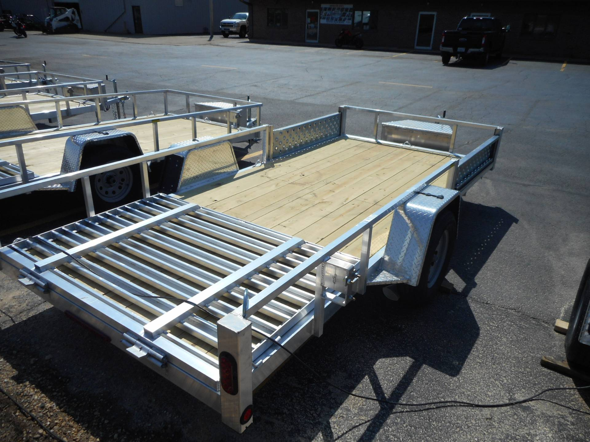 2020 Quality Trailers 74X14 DROP AXLE ALUMINUM TRAILER in Belvidere, Illinois - Photo 4