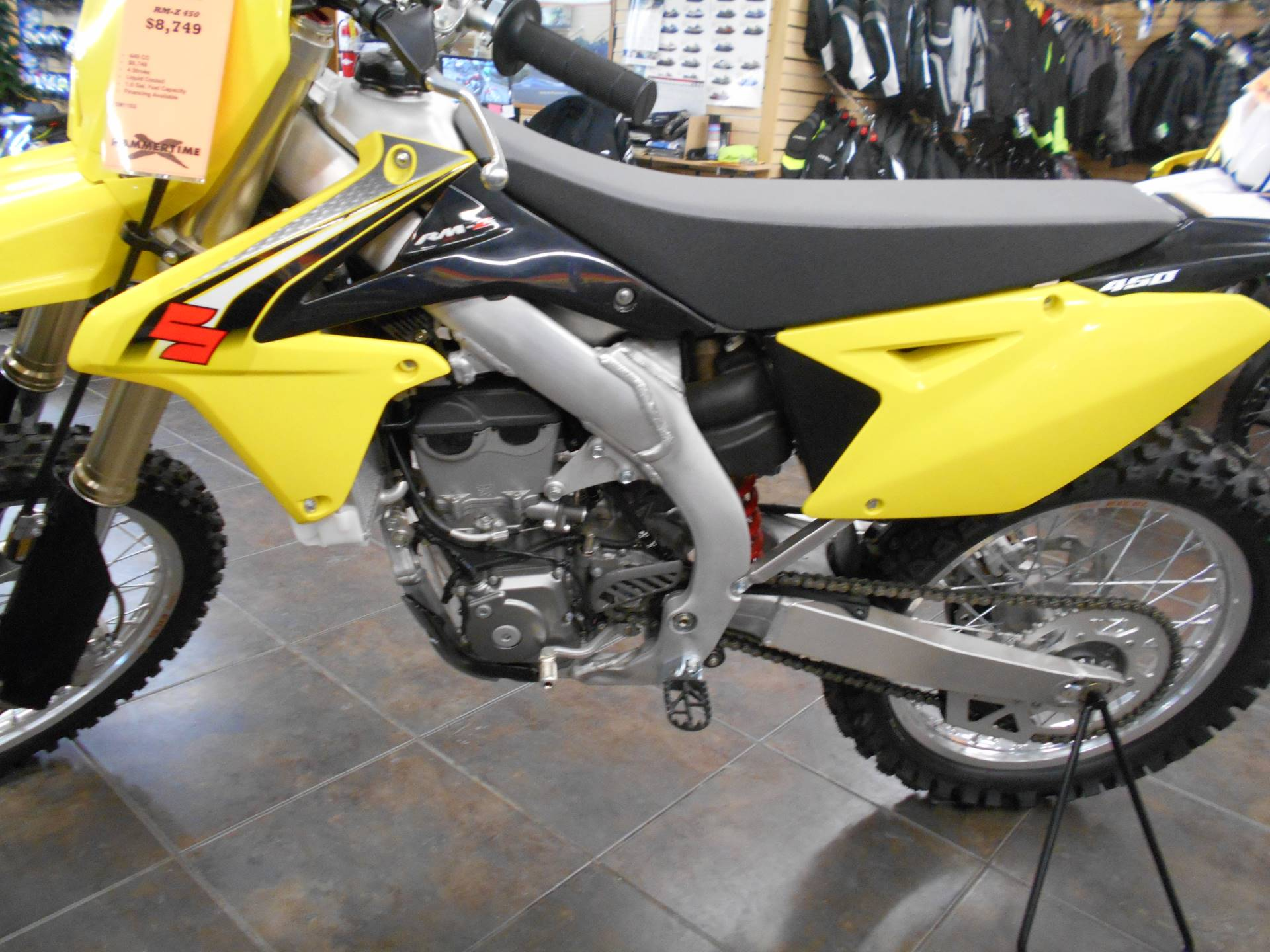 2016 Suzuki RM-Z450 in Belvidere, Illinois - Photo 3