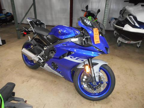 2020 Yamaha YZF-R6 in Belvidere, Illinois - Photo 1