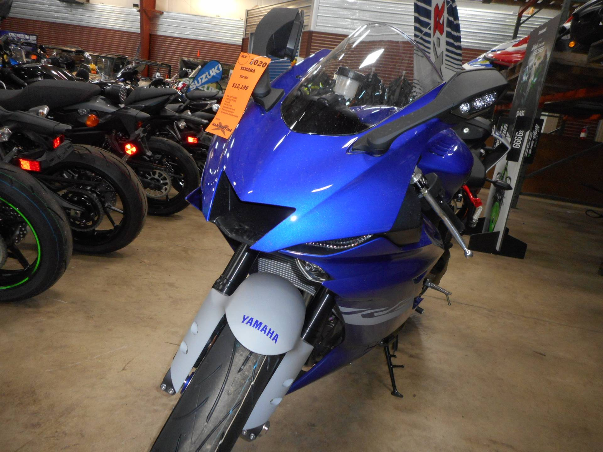 2020 Yamaha YZF-R6 in Belvidere, Illinois - Photo 6