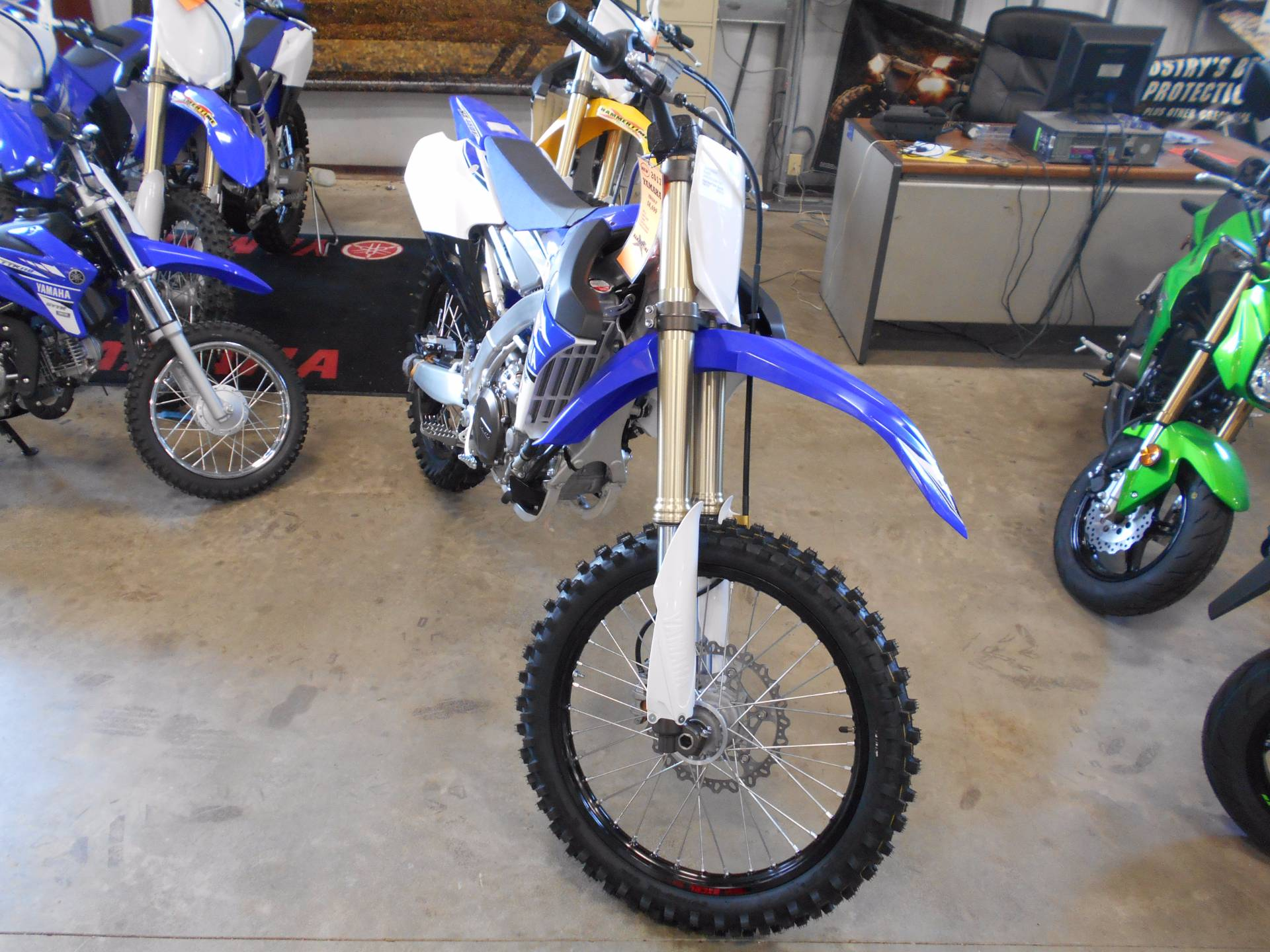 2015 Yamaha YZ450F in Belvidere, Illinois
