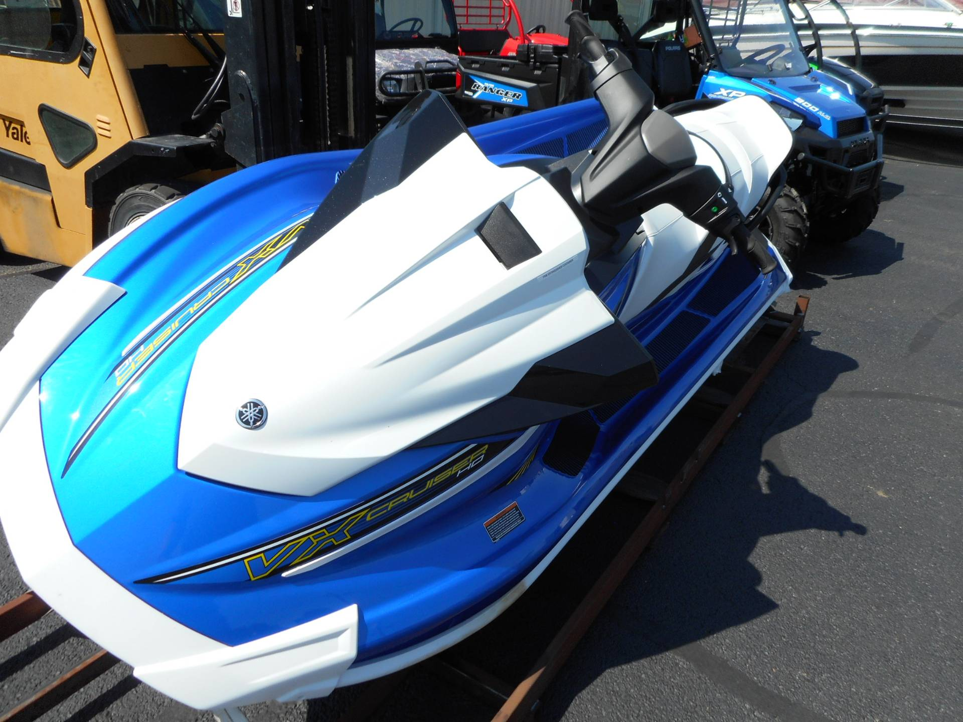 2018 Yamaha VX Cruiser HO in Belvidere, Illinois