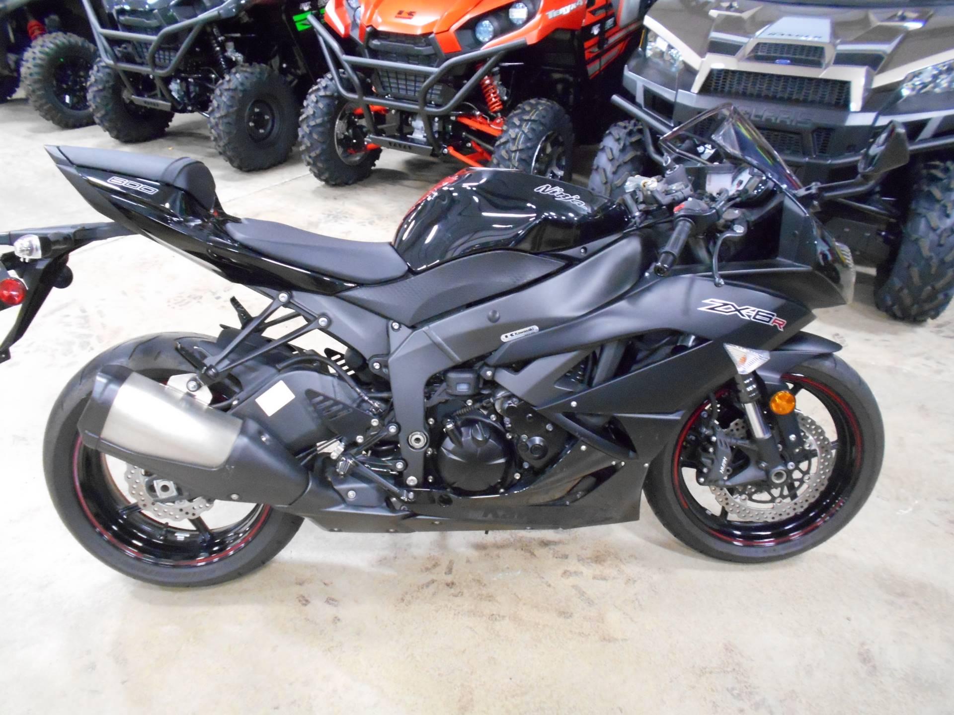 Used 2012 Kawasaki Ninja® ZX™-6R Motorcycles in Belvidere, IL
