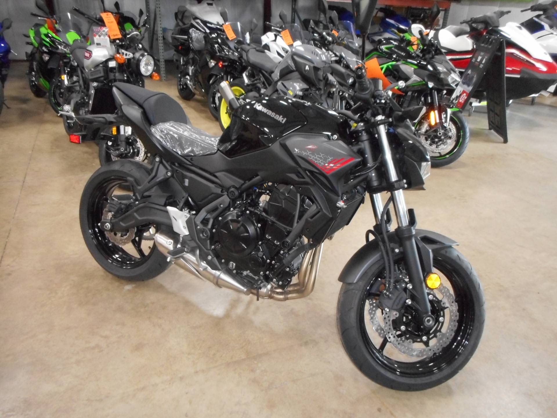 2020 Kawasaki Z650 in Belvidere, Illinois - Photo 1