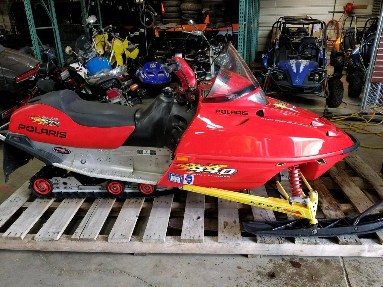 2002 Polaris Indy 440 Pro X in Belvidere, Illinois - Photo 1