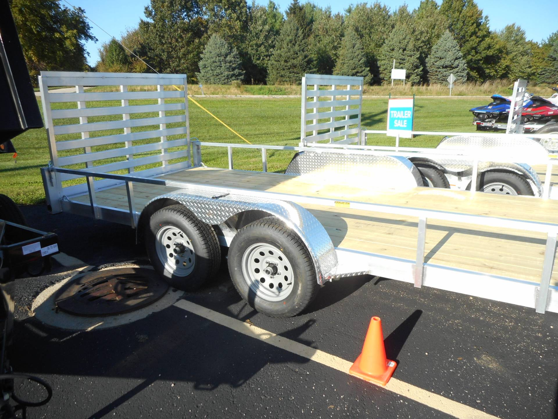 2020 Quality Trailers 82X18 DROP AXLE in Belvidere, Illinois - Photo 1