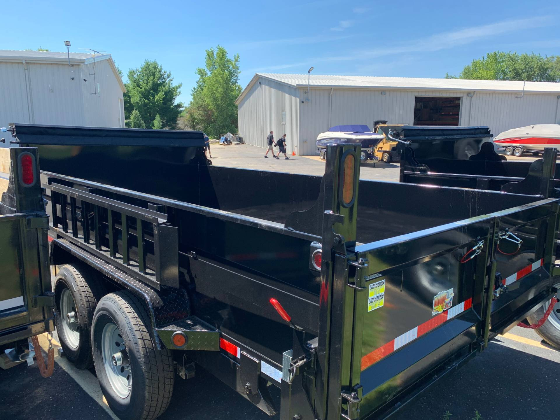 2021 Quality Trailers 83X12 DUMP in Belvidere, Illinois - Photo 2