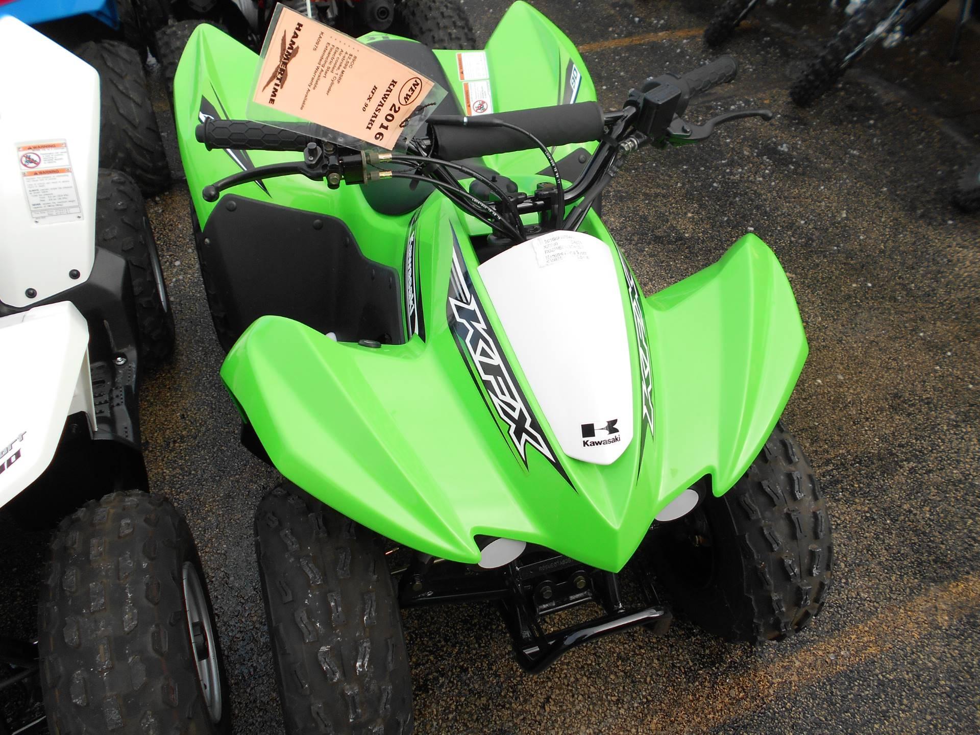 2016 Kawasaki KFX90 1