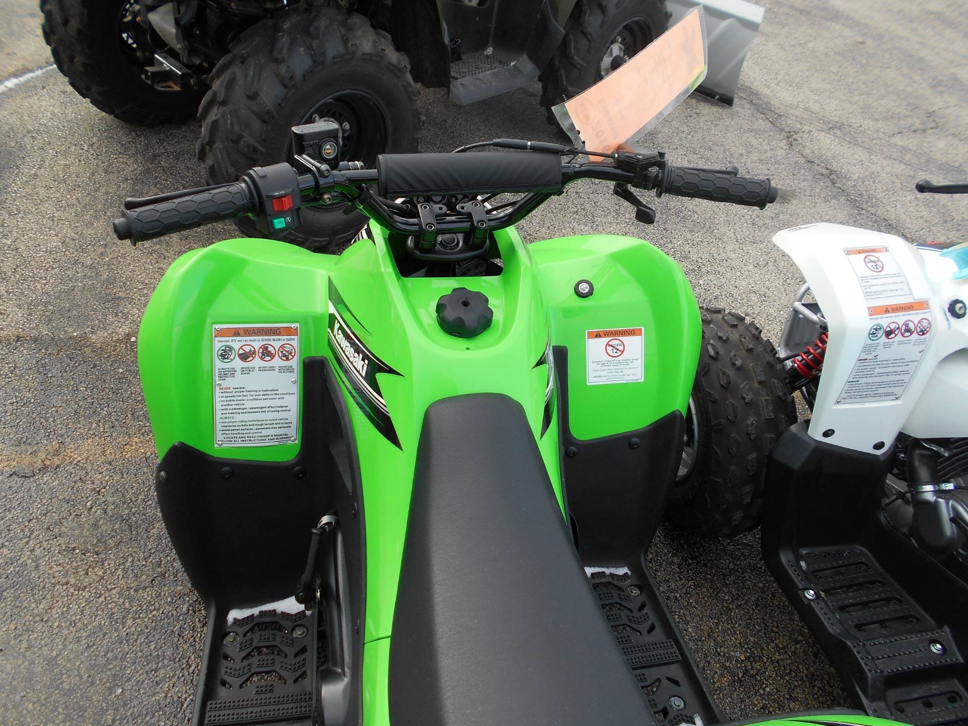 2016 Kawasaki KFX90 in Belvidere, Illinois - Photo 4