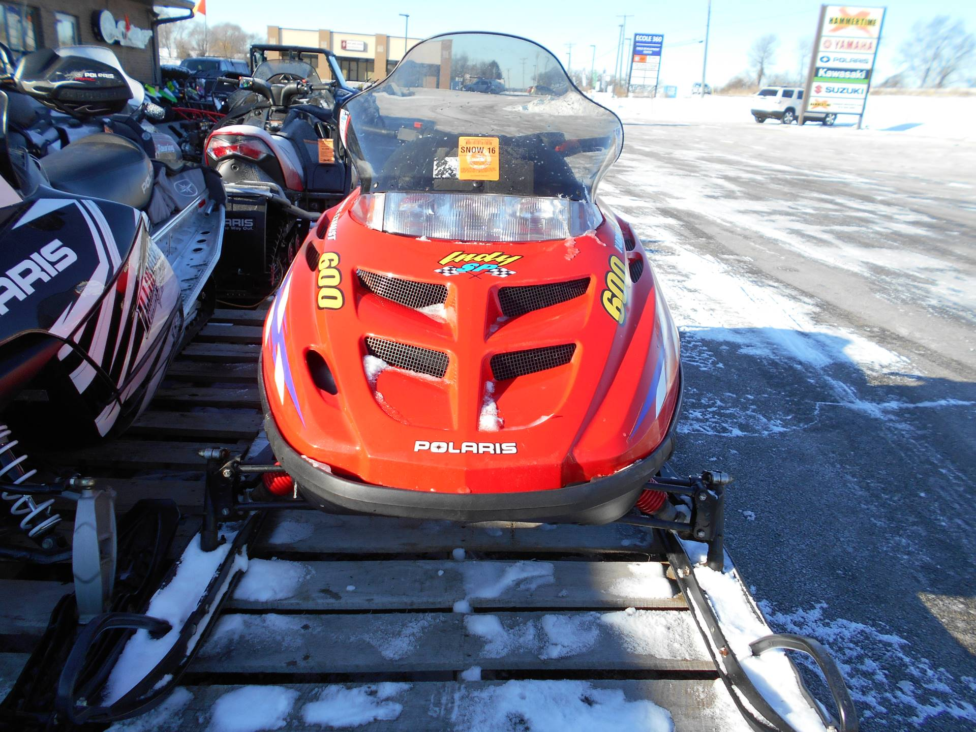 2000 Polaris Indy 600 XC SP in Belvidere, Illinois - Photo 1