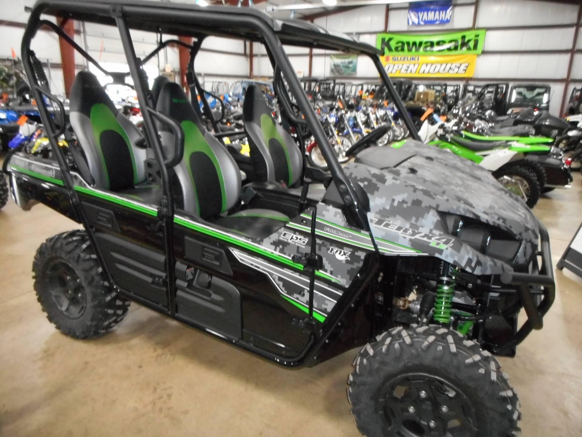 61018995df New 2018 Kawasaki Teryx4 LE Camo Utility Vehicles in Belvidere, IL