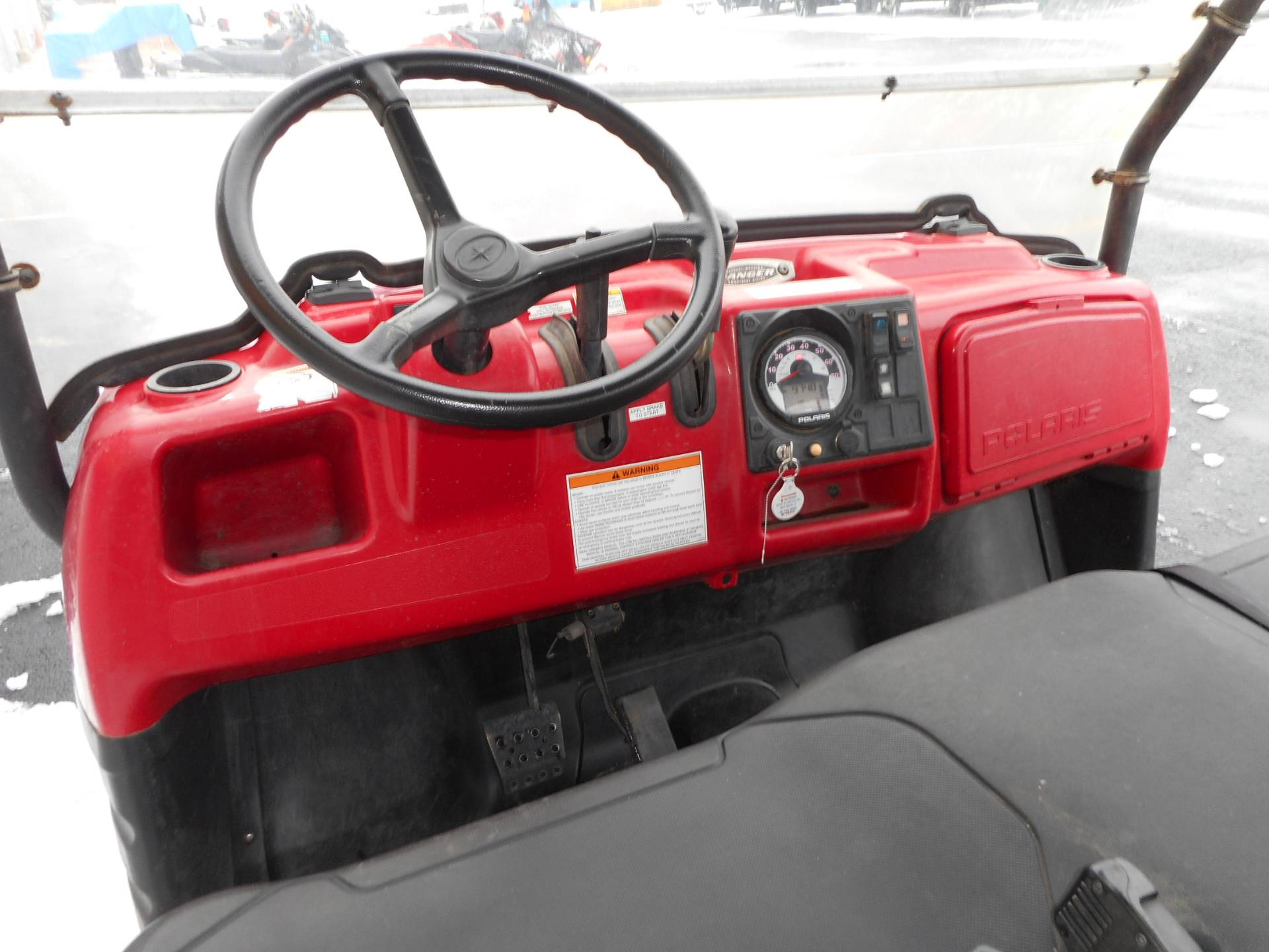 2008 Polaris Ranger Crew in Belvidere, Illinois - Photo 10