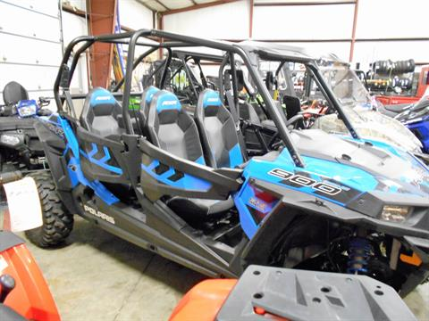 2017 Polaris RZR 4 900 EPS in Belvidere, Illinois