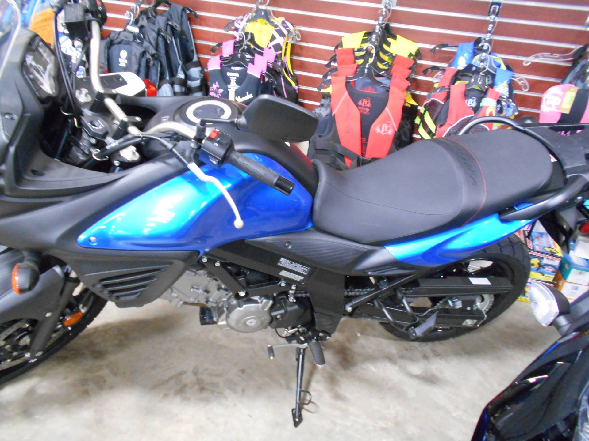 New 2015 Suzuki V Strom 650 Abs Motorcycles In Belvidere Il
