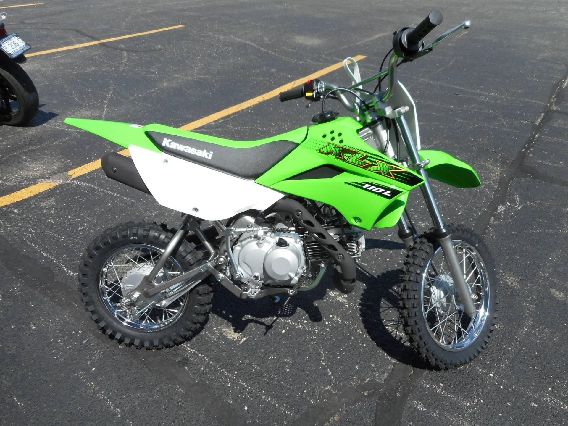 2020 Kawasaki KLX 110L in Belvidere, Illinois on