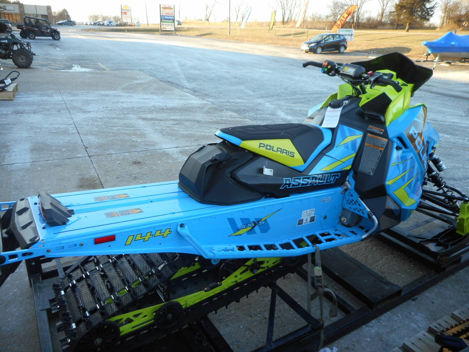 2020 Polaris 800 Switchback Assault 144 SC in Belvidere, Illinois - Photo 7