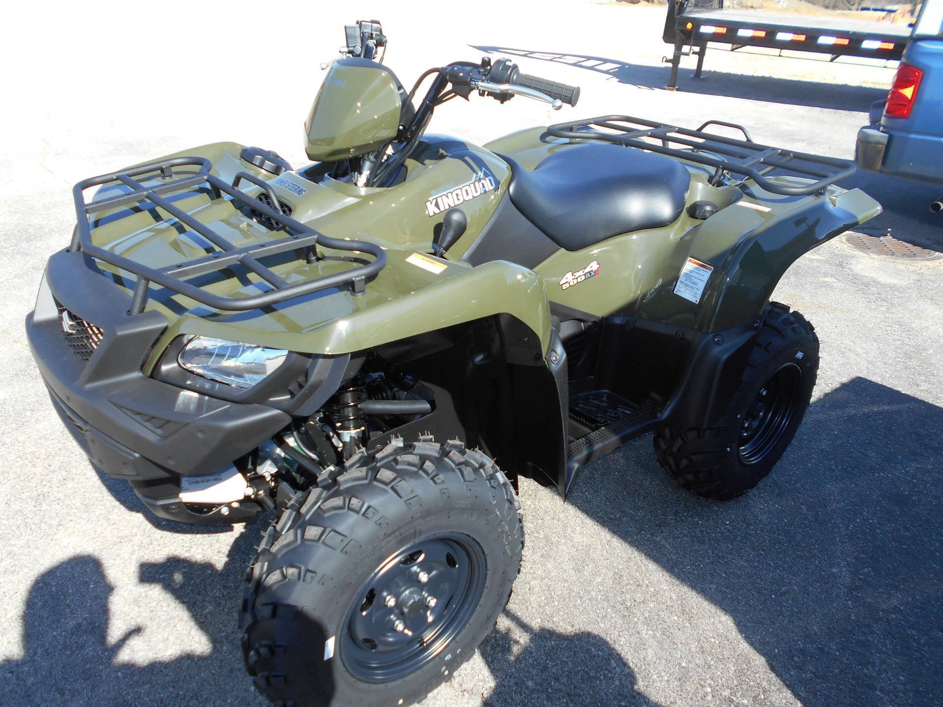 2018 Suzuki KingQuad 500AXi Power Steering in Belvidere, Illinois - Photo 3