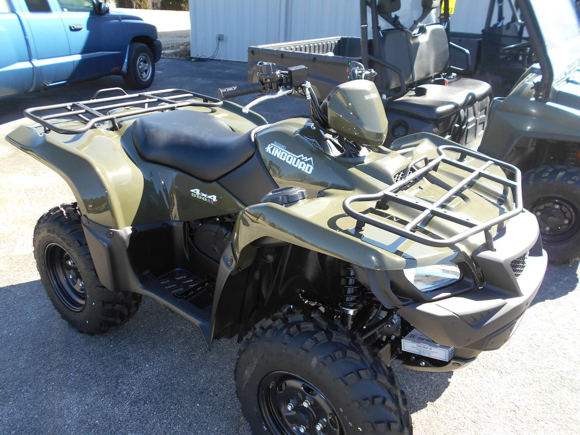 2018 Suzuki KingQuad 500AXi Power Steering in Belvidere, Illinois - Photo 6
