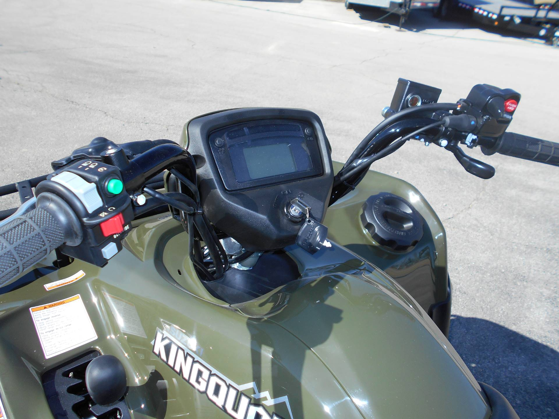 2018 Suzuki KingQuad 500AXi Power Steering in Belvidere, Illinois - Photo 9