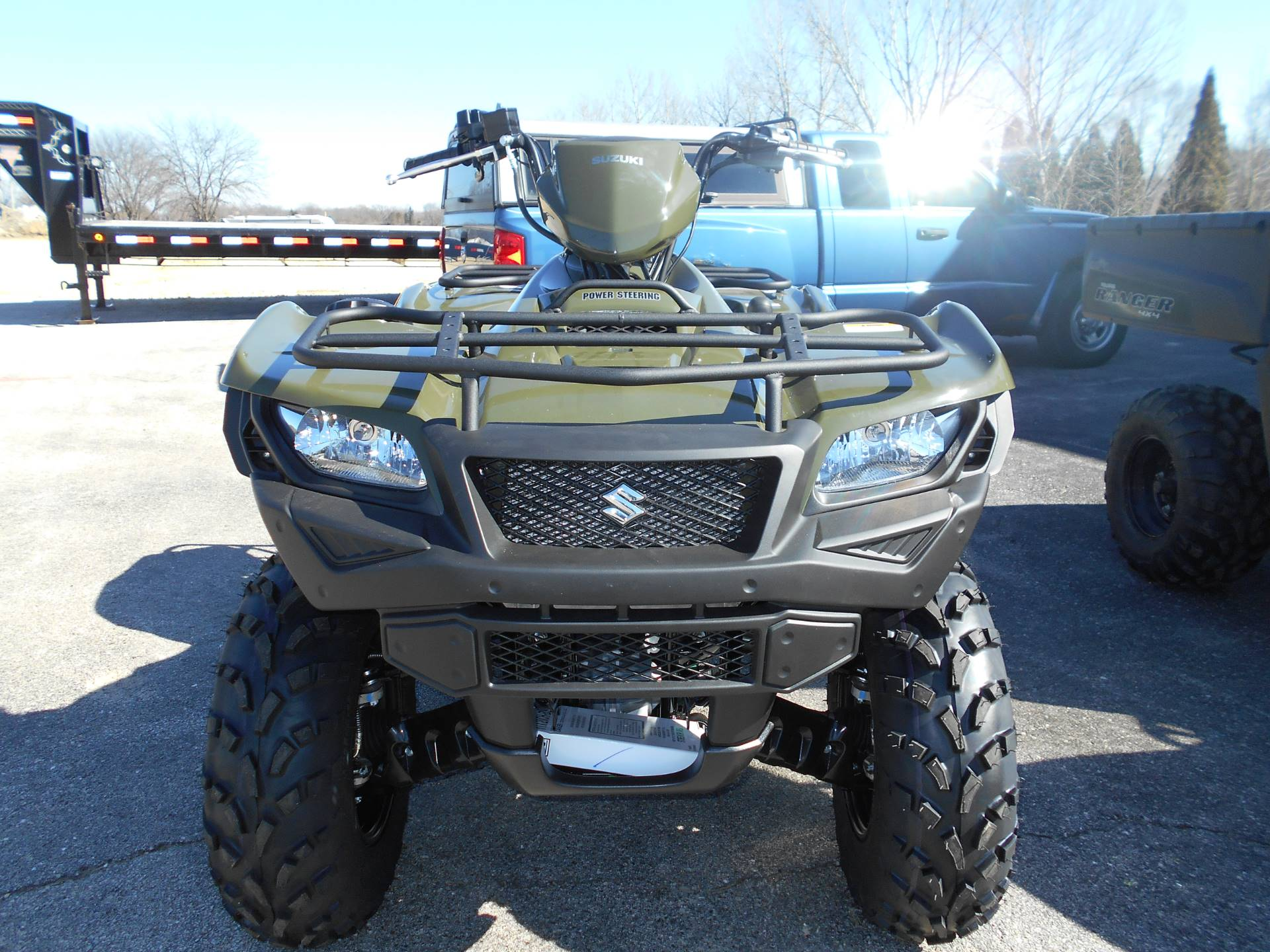 2018 Suzuki KingQuad 500AXi Power Steering in Belvidere, Illinois - Photo 7