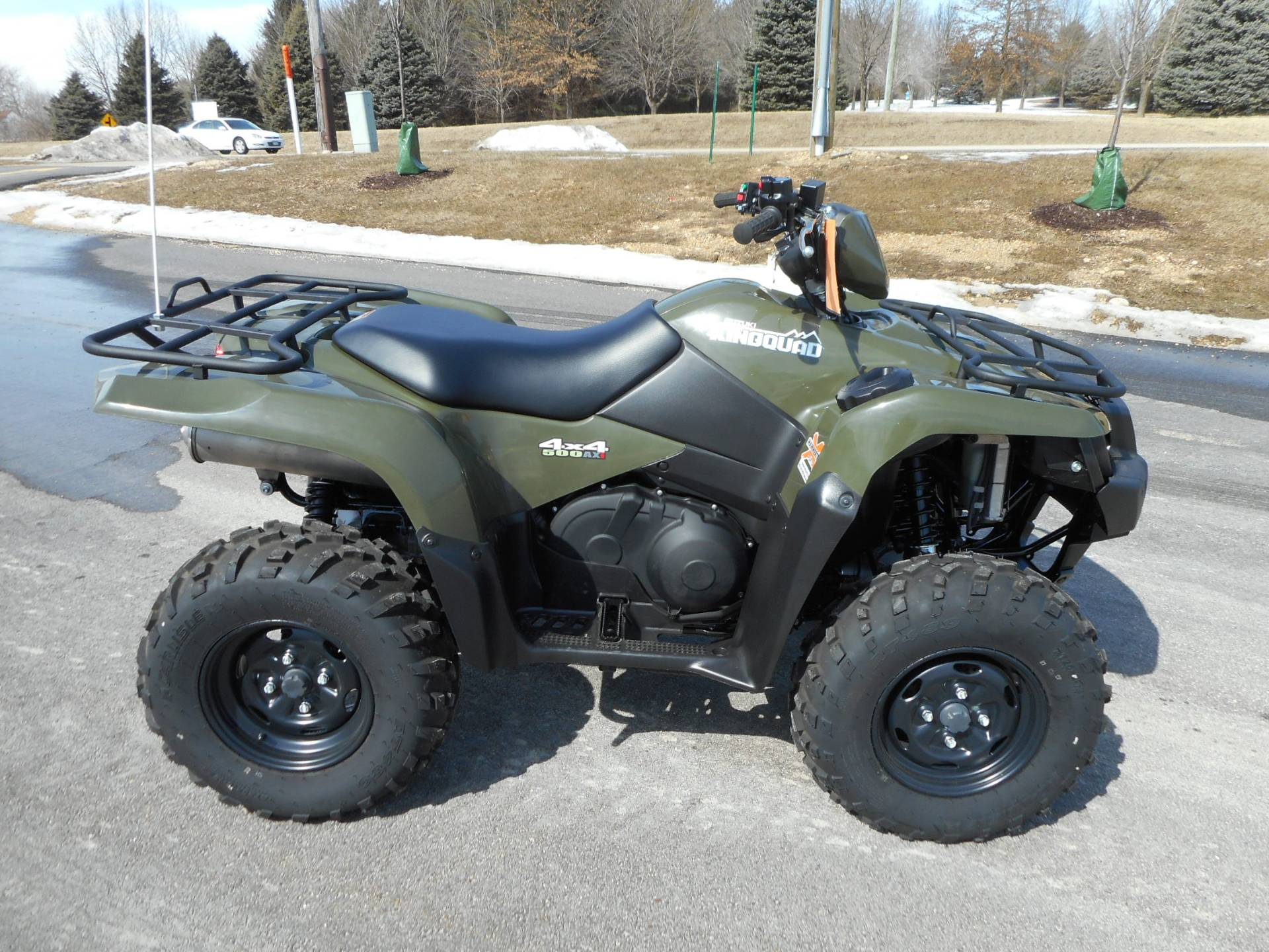 2018 Suzuki KingQuad 500AXi Power Steering in Belvidere, Illinois - Photo 2