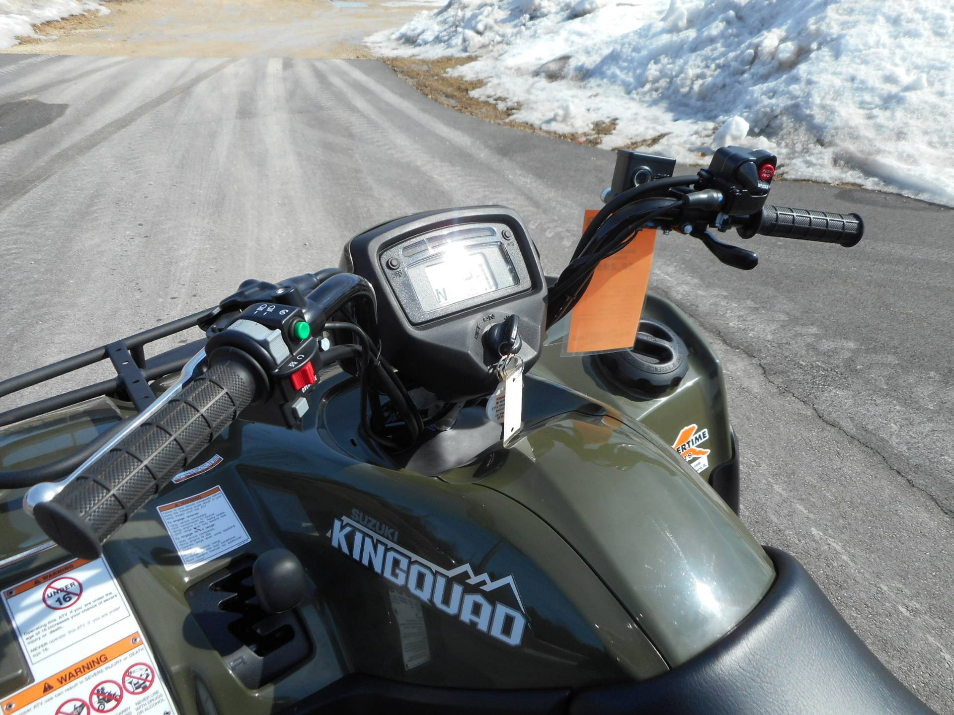 2018 Suzuki KingQuad 500AXi Power Steering in Belvidere, Illinois - Photo 16