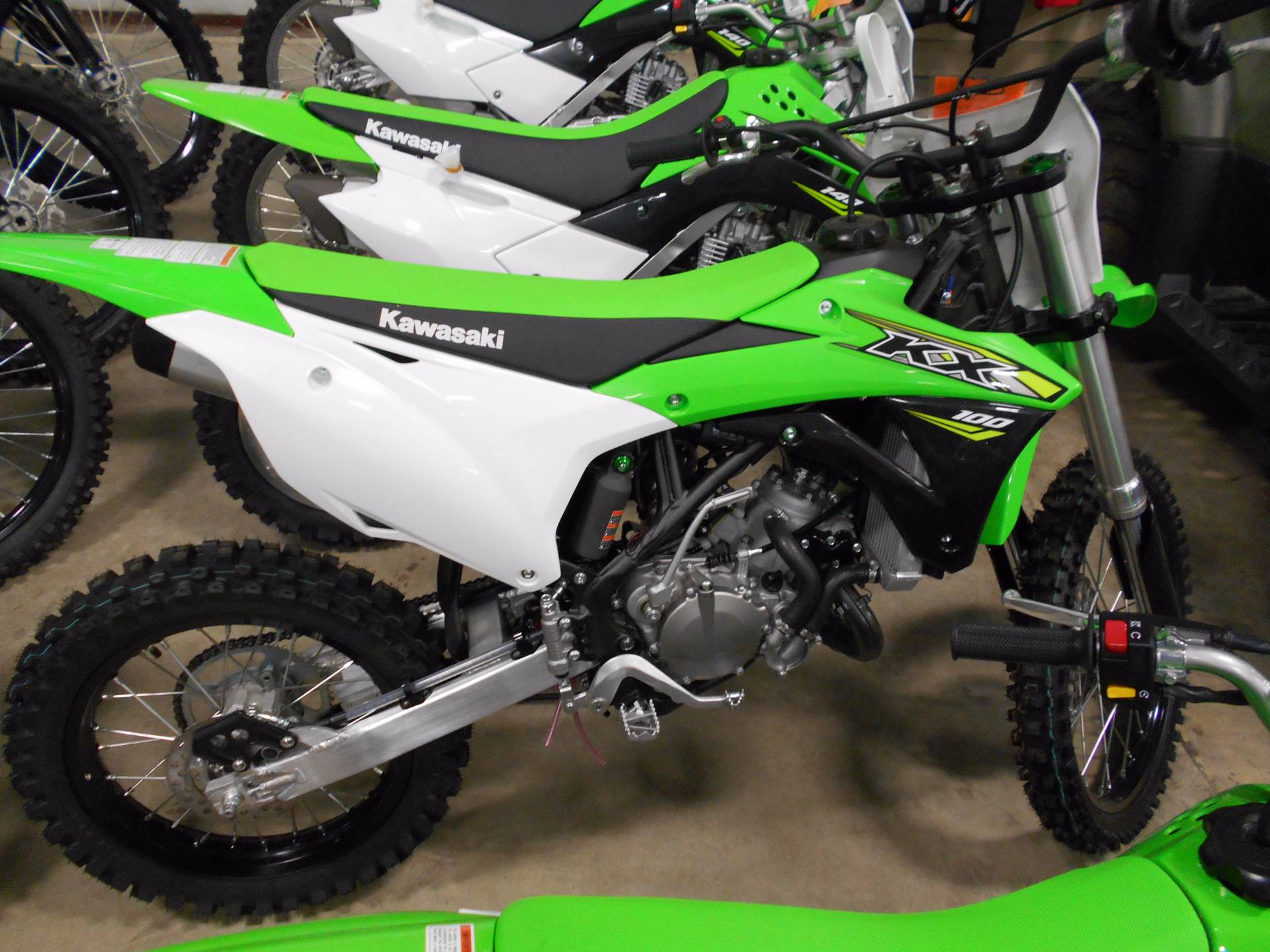 2018 Kawasaki KX 100 in Belvidere, Illinois - Photo 1
