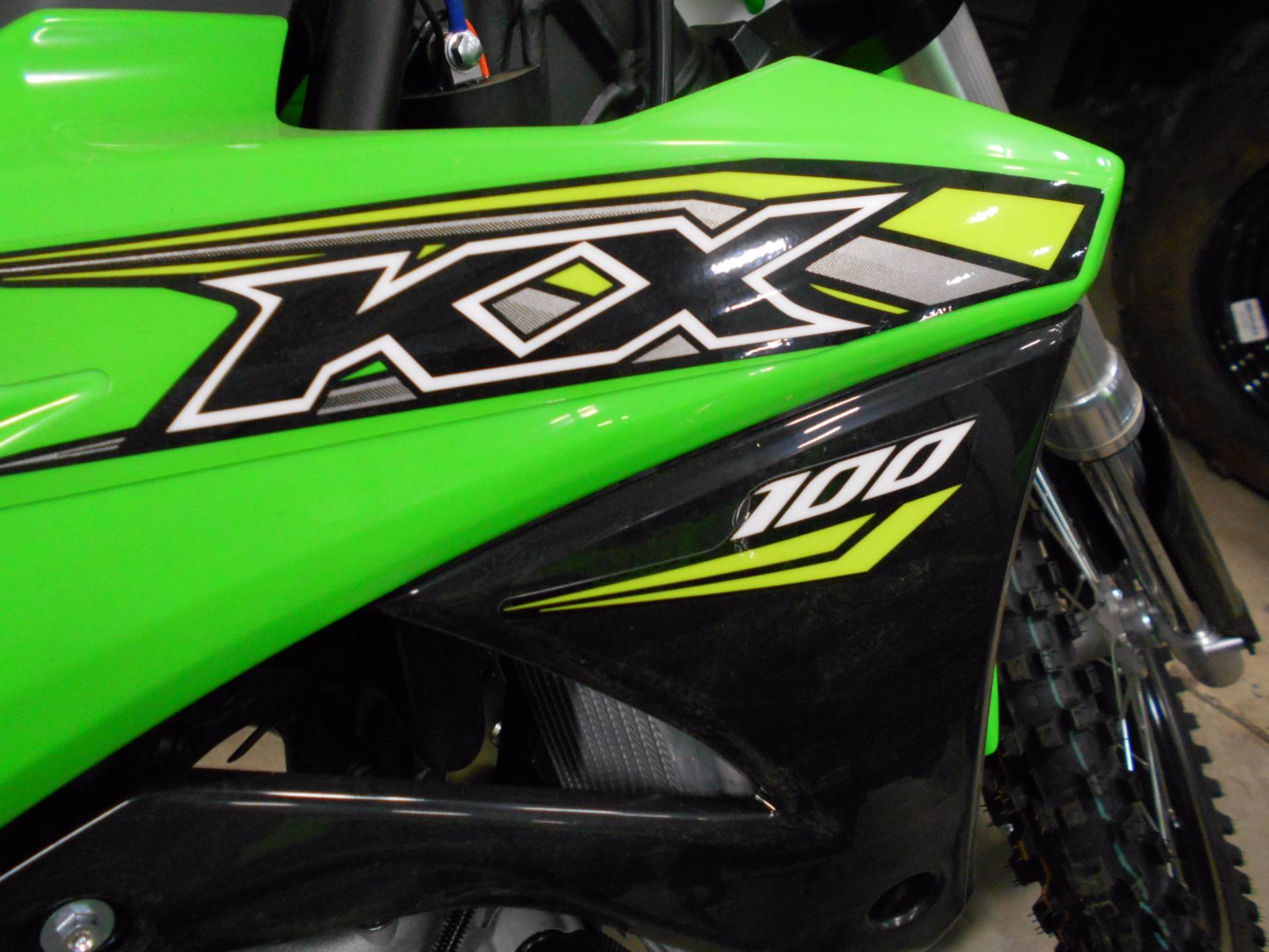 2018 Kawasaki KX 100 in Belvidere, Illinois - Photo 5