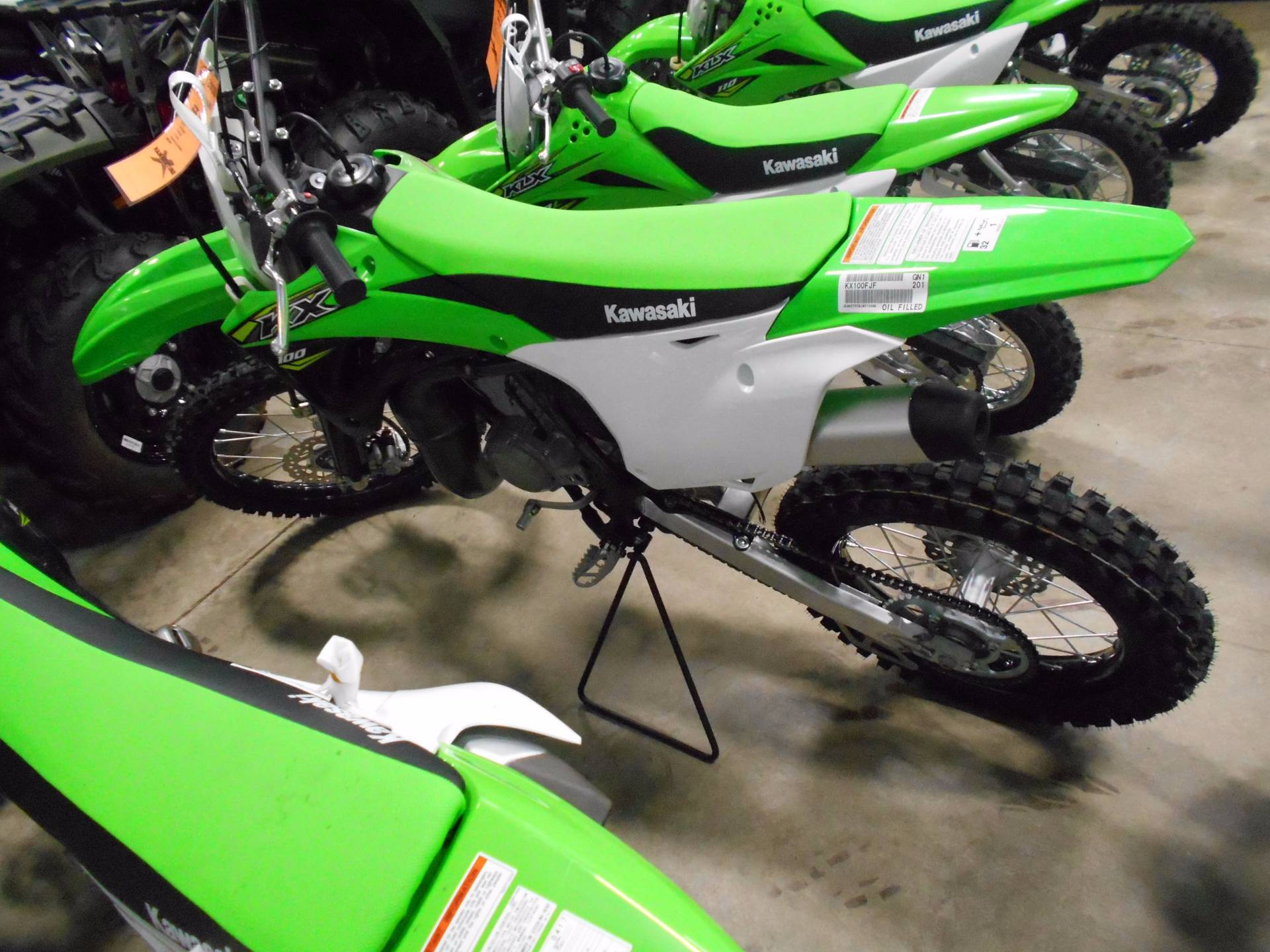 2018 Kawasaki KX 100 in Belvidere, Illinois - Photo 3