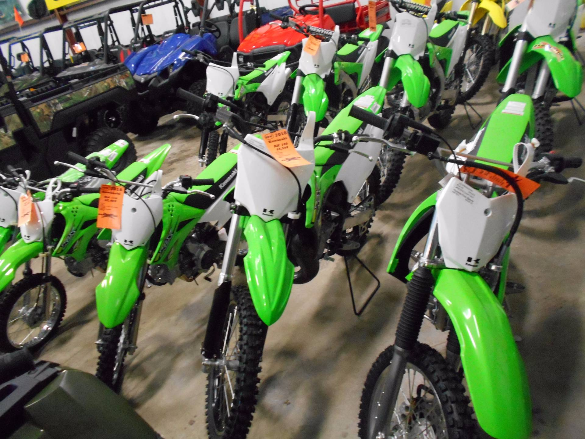 2018 Kawasaki KX 100 in Belvidere, Illinois - Photo 4