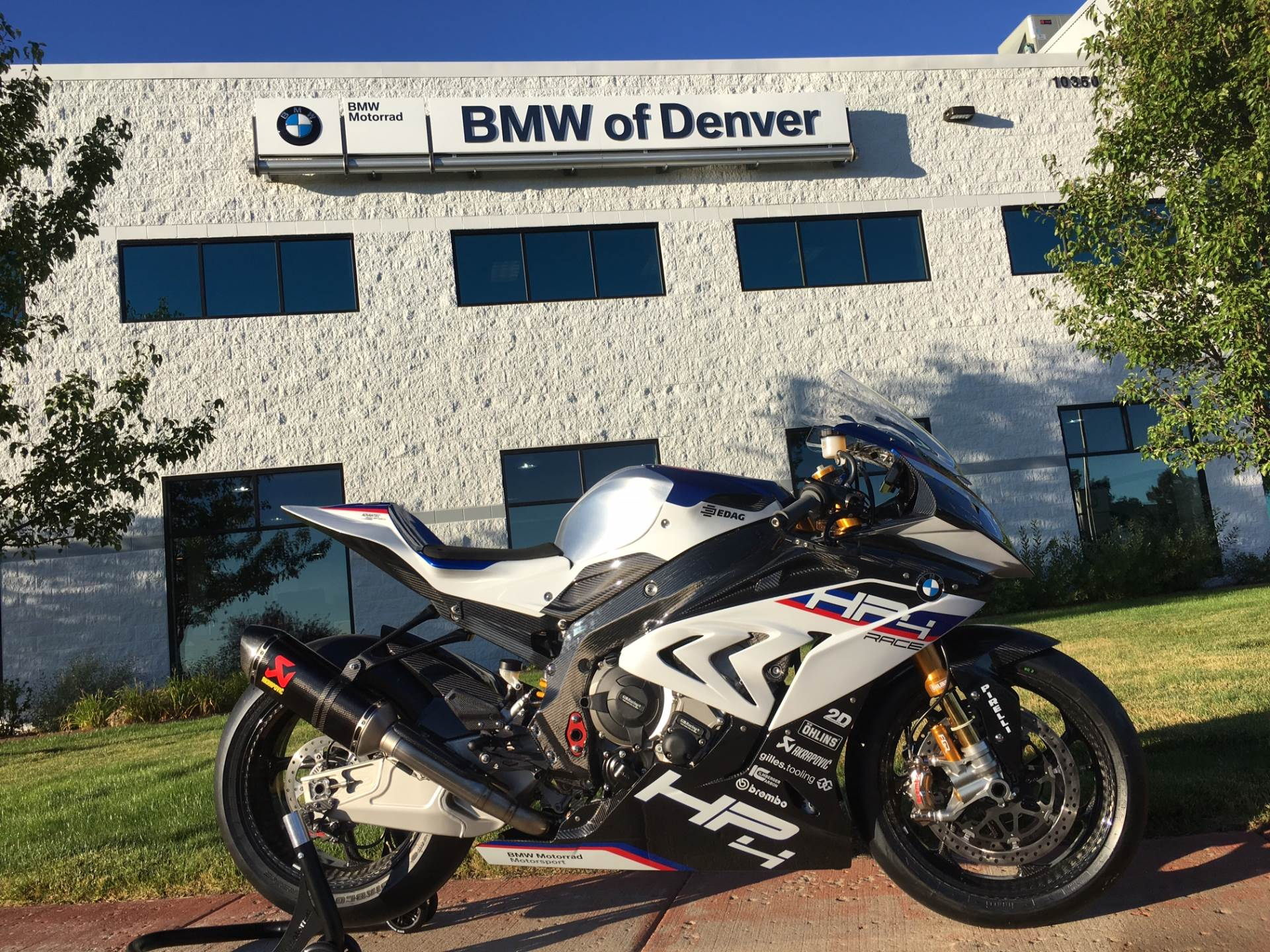 New 2018 Bmw Hp4 Race Motorcycles In Centennial Co