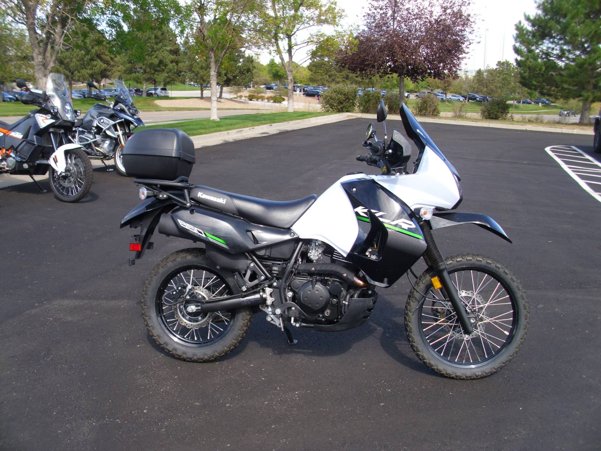 2015 Kawasaki KLR™650 in Centennial, Colorado