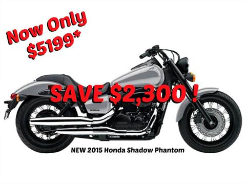 2015 Honda Shadow Phantom® in Erie, Pennsylvania