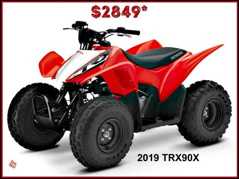 2019 Honda TRX90X in Erie, Pennsylvania
