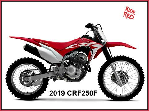 2019 Honda CRF250F in Erie, Pennsylvania
