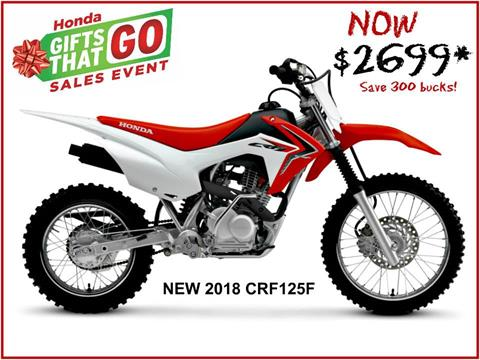 2018 Honda CRF125F in Erie, Pennsylvania