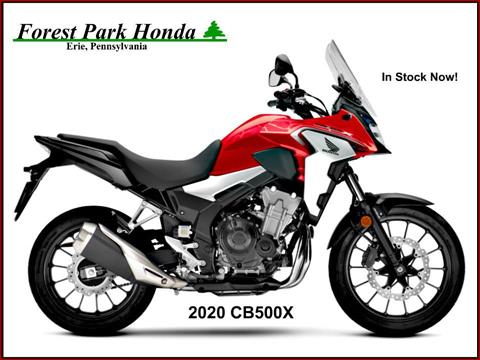 2020 Honda CB500X in Erie, Pennsylvania