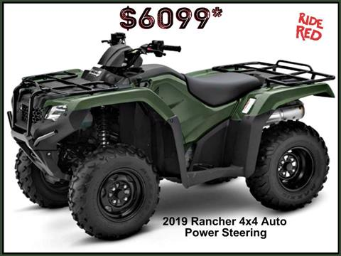 2019 Honda FourTrax Rancher 4x4 DCT EPS in Erie, Pennsylvania - Photo 1